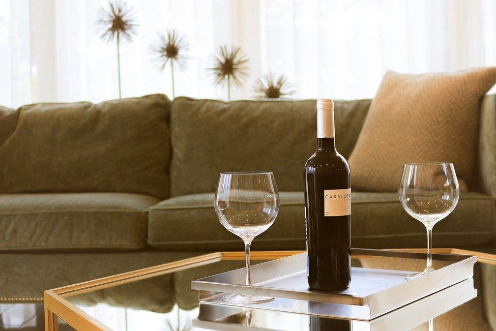 witte wijn thuis