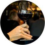 wijn vasthouden