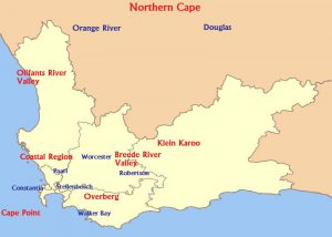 Stellenbosch kaart