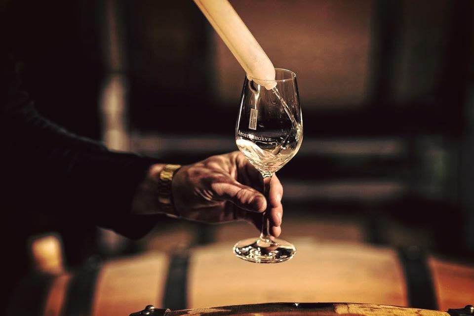 Inschenk wijn